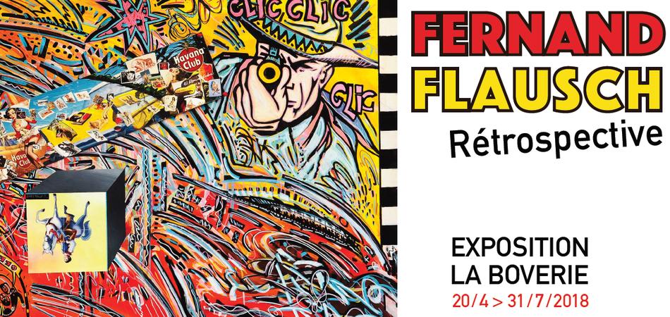 Fernand Flausch Overzichtstentoonstelling
