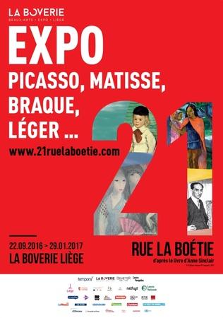 21 rue la Boétie (Verlengd tem 19.02.2017)